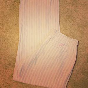 Victoria's Secret Glitter Pajama Pant Small